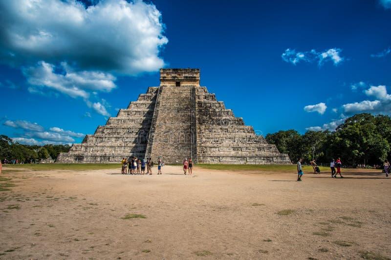 Aturdir chichen a civilização antiga de México do itza fotos de stock