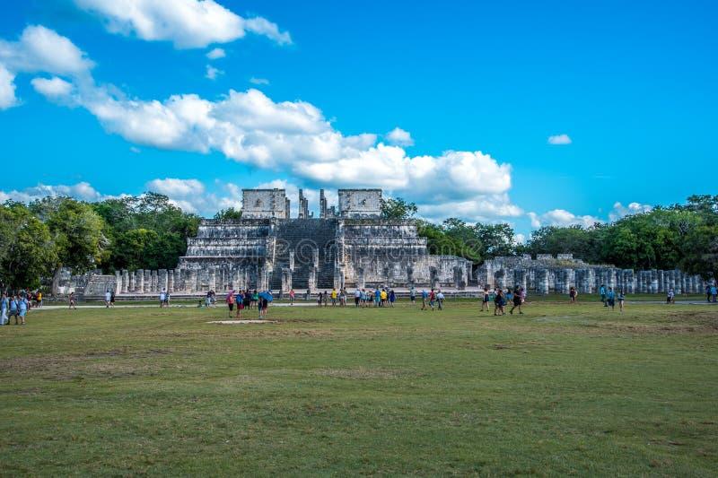 Aturdir chichen a civilização antiga de México do itza fotografia de stock