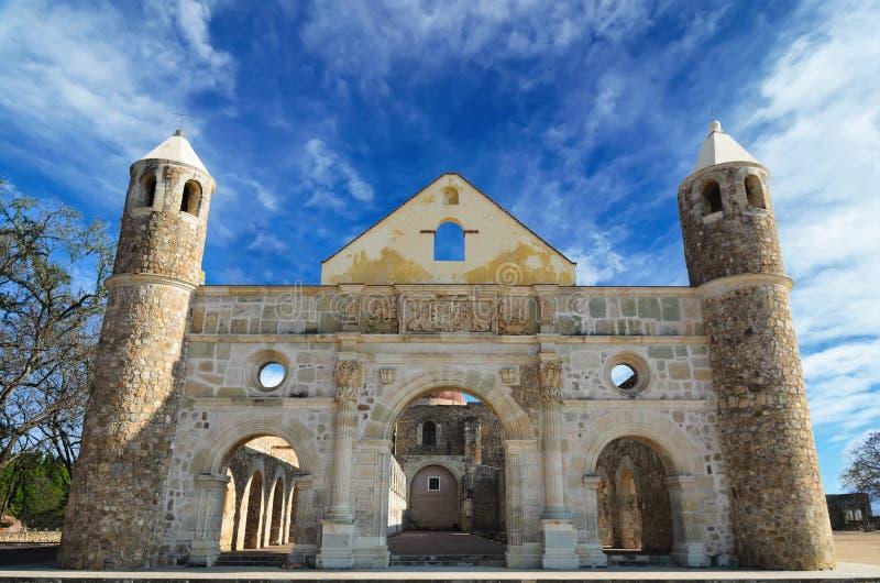 Aturdir a Convento de Cuilapam en Oaxaca fotos de archivo libres de regalías