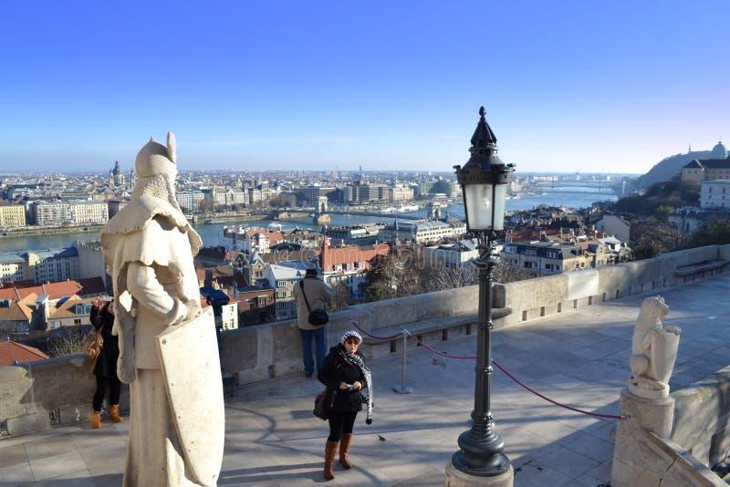Aturdir la opinión de Budapest foto de archivo libre de regalías