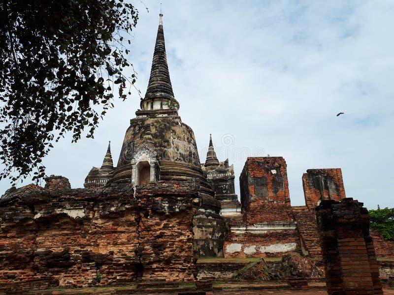Atutthaya виска в Таиланде стоковые фото