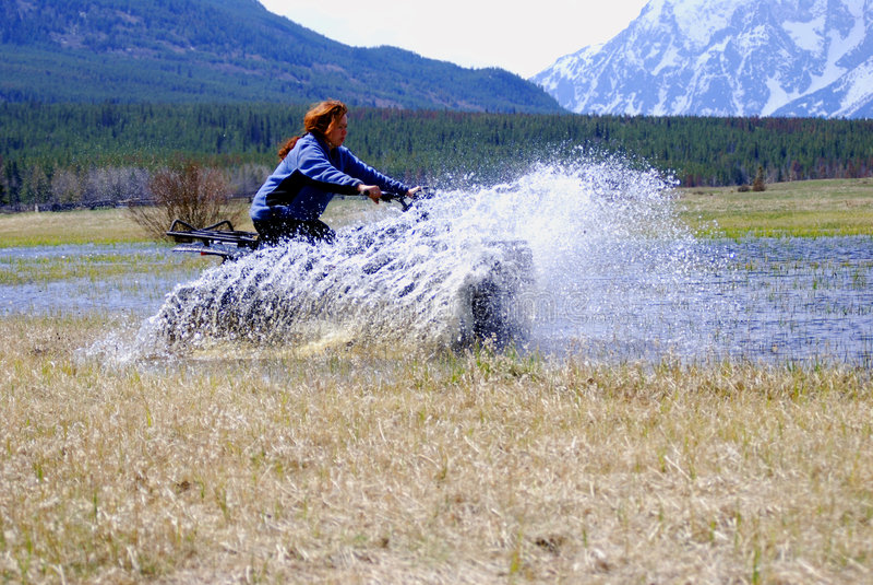 ATV foto de stock royalty free