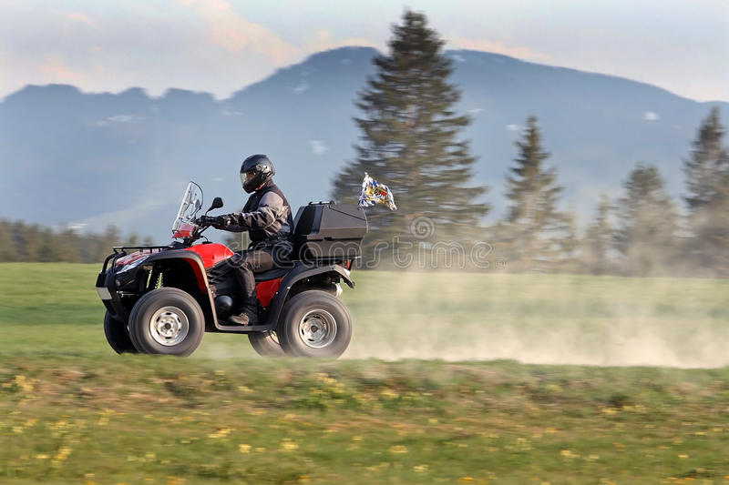Download The ATV stock image. Image of funny, area, front, jacket - 26237347