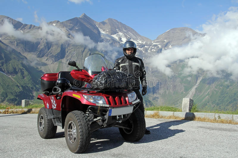 Download The ATV stock photo. Image of driving, duty, gravel, allrad - 26317036