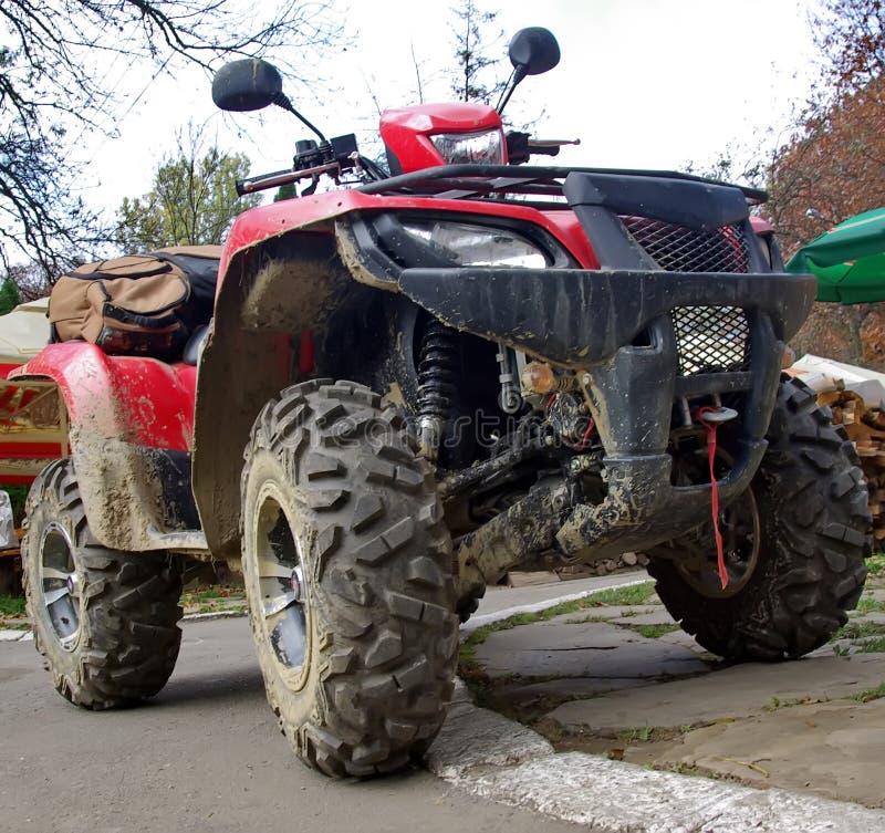 Download ATV stock image. Image of dirt, drive, forest, handlebar - 7731593