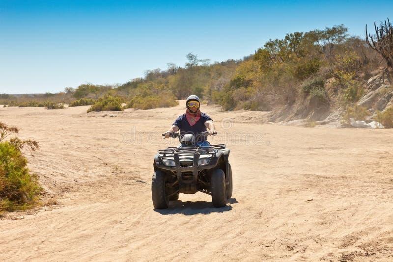ATV i Mexico arkivbild