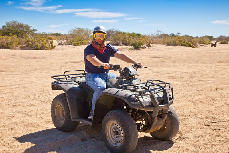 ATV in Mexico stock afbeelding