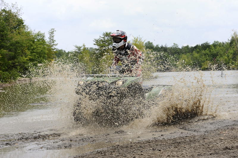 Download ATV in mudhole stock photo. Image of extreme, wheel, riding - 20110894