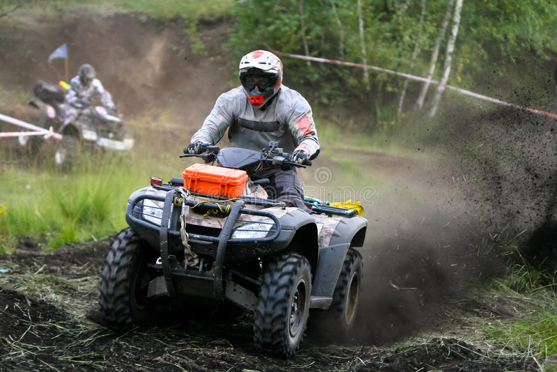 Download ATV Quad Extreme Race stock image. Image of freedom, motocross - 31694601