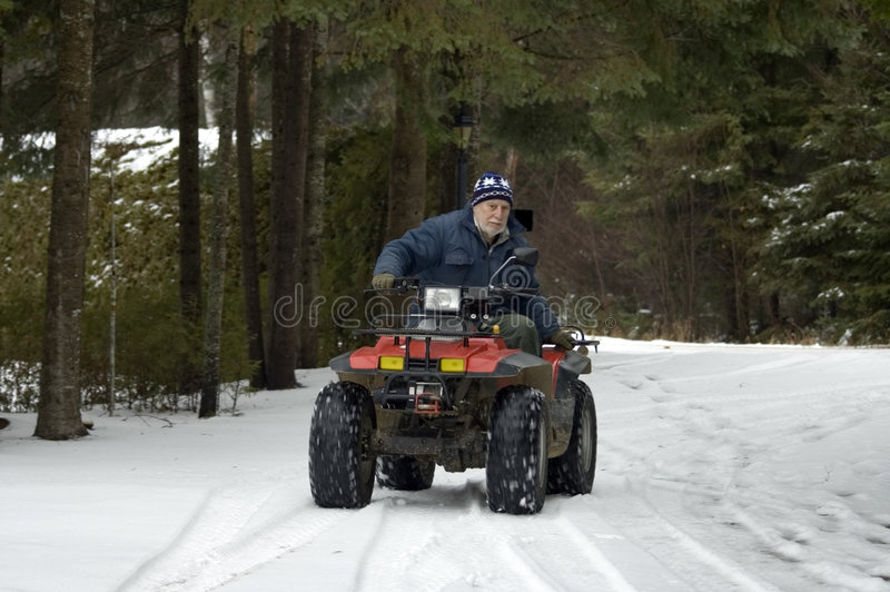 Download ATV quad senior rider stock image. Image of sport, wheels - 368413
