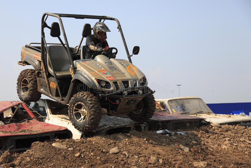 Download ATV race editorial photo. Image of racer, action, helmet - 12302401