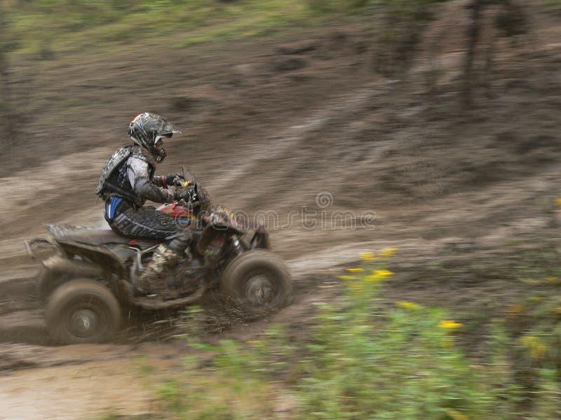 ATV Racer stock photo