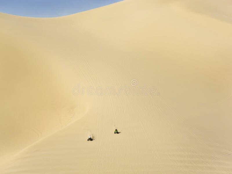 ATVs on Sand Mountain Nevada royalty free stock photography