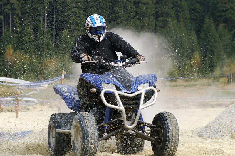 ATV splash stock photography