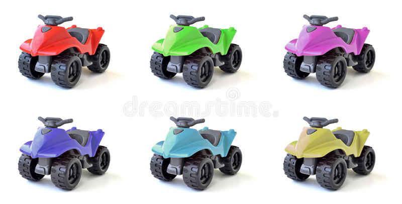 Atv toys royaltyfri foto