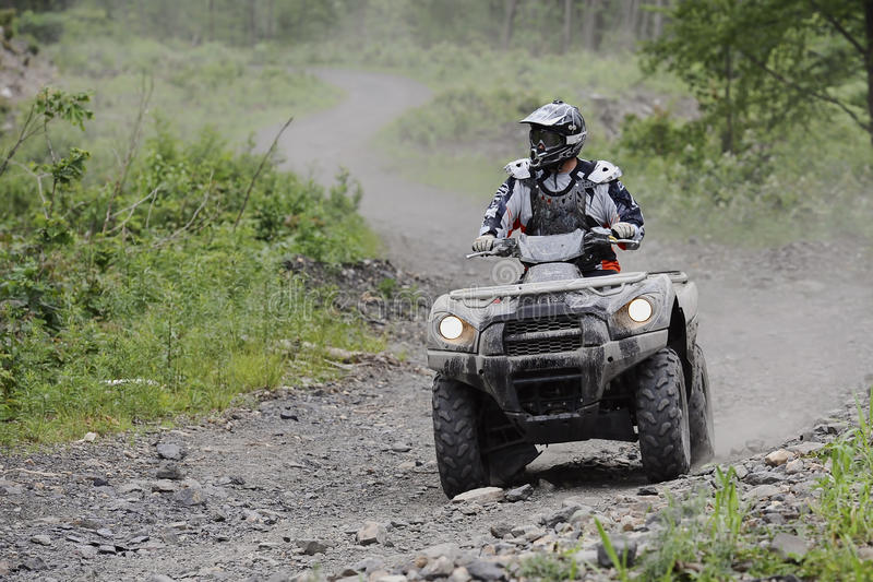 Download ATV Trail Rider Royalty Free Stock Photos - Image: 20111508