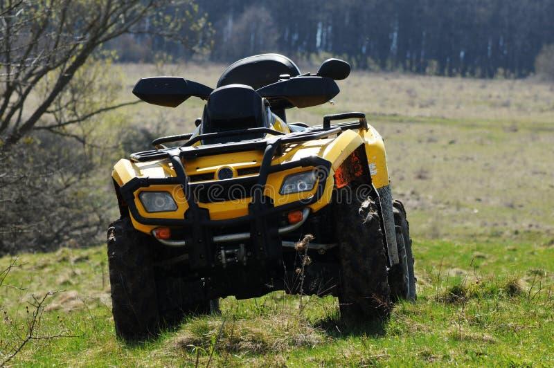 ATV vierlingfiets royalty-vrije stock foto