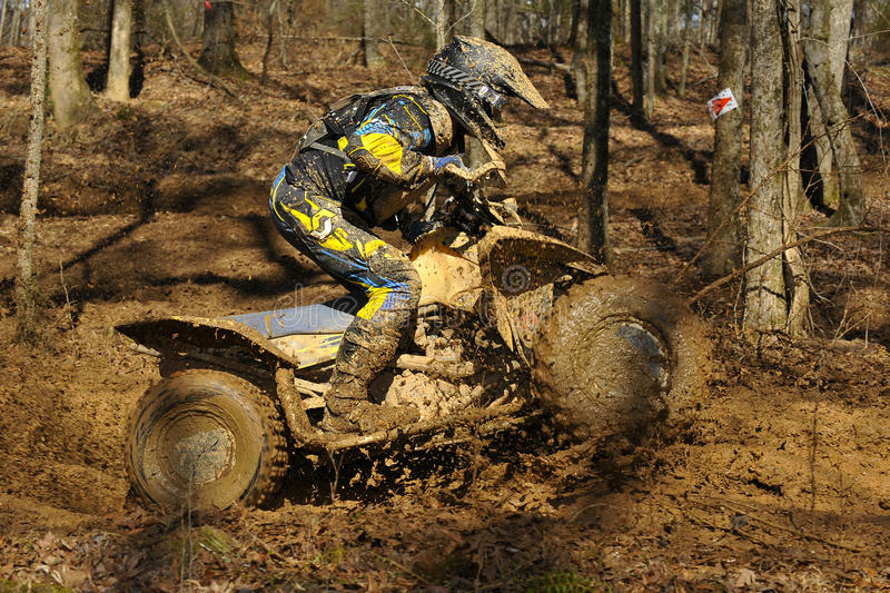 Download ATV Woods Racer Stock Photography - Image: 19005732