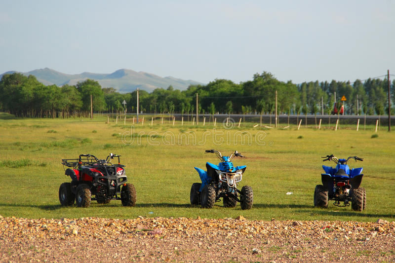 Download Atvs for rent stock image. Image of power, meadow, ride - 13171843