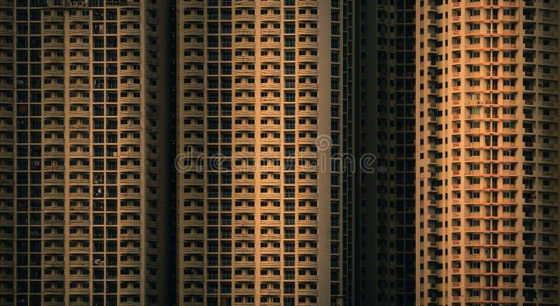 Außenfassade einer Wohnung lizenzfreie stockfotografie