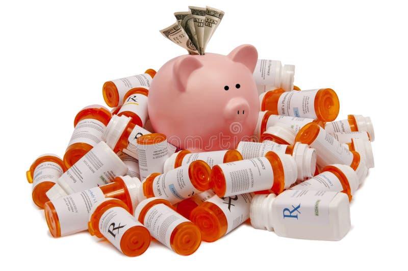 Außer Geld auf Verordnungen lizenzfreies stockbild