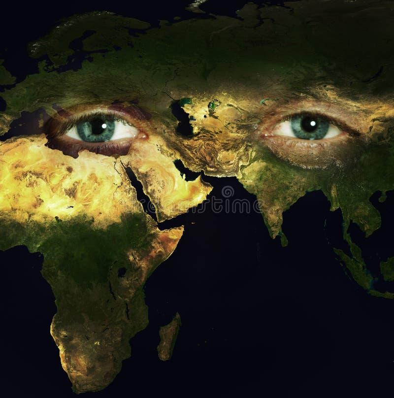 Außer Planeten stockfoto
