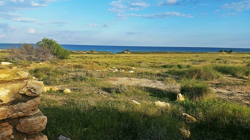 Außerhalb der Stadt Sousse stockfotos