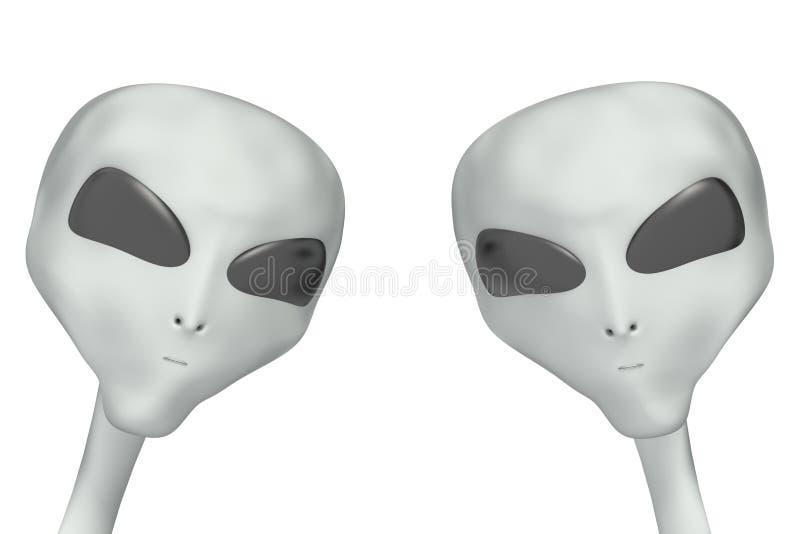 Außerirdisch vektor abbildung