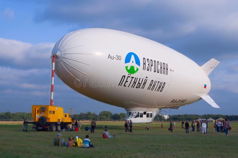 Au-30 airship stock photography