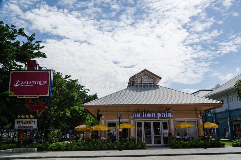Au Bon Pain cafe at ASIATIQUE The Riverfront royalty free stock photography