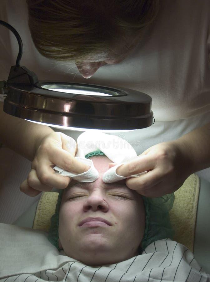 Au Cosmetician images libres de droits