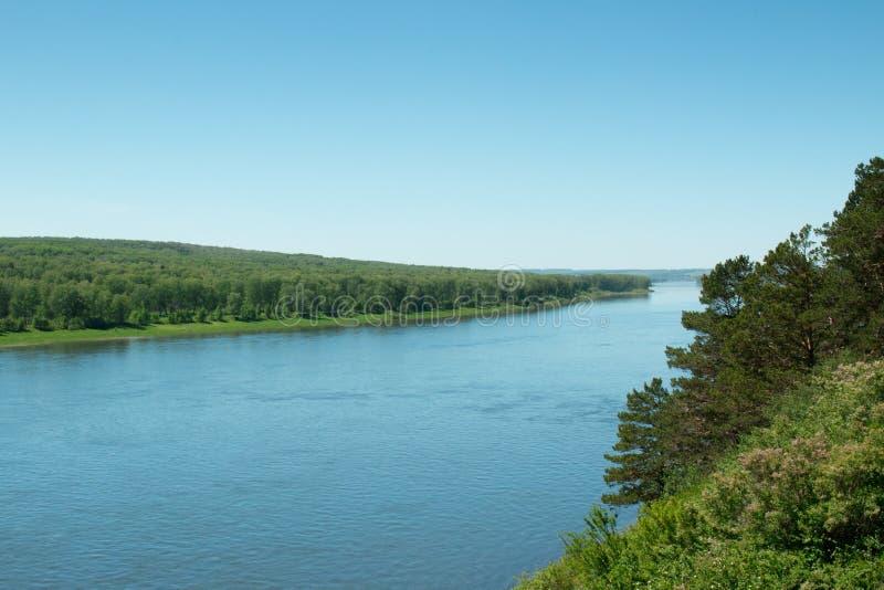 Au-dessus de la rivière Tom image libre de droits