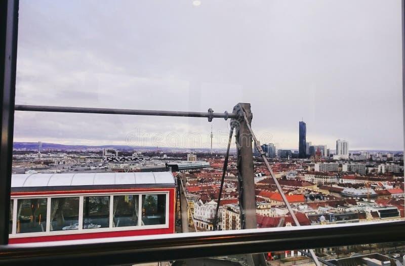 Au-dessus de Vienne photo libre de droits
