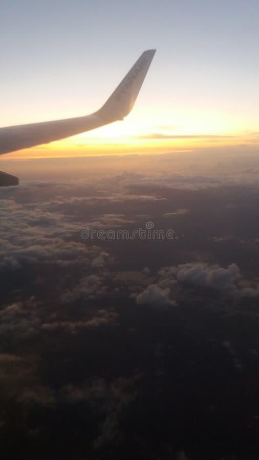 Au-dessus du ciel photographie stock