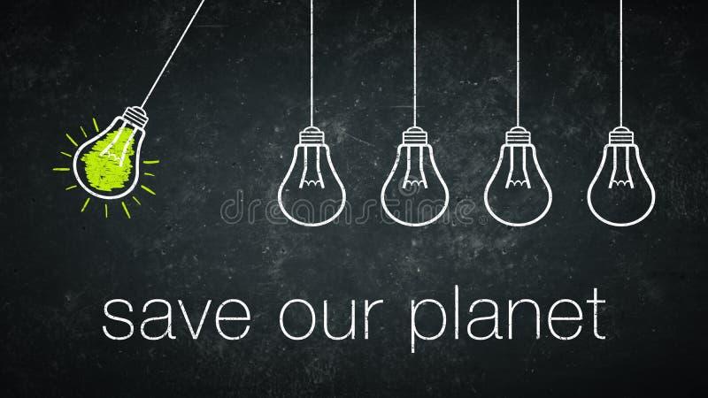 Au?er unserem Planeten lizenzfreie abbildung