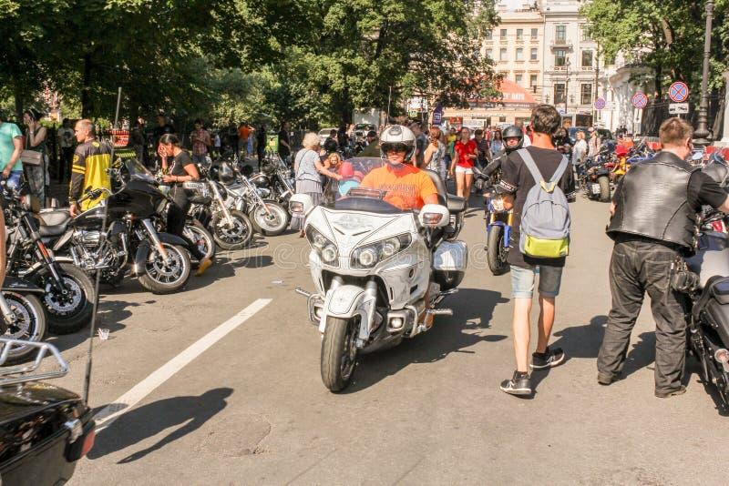 Au festival de Harley Davidson photographie stock