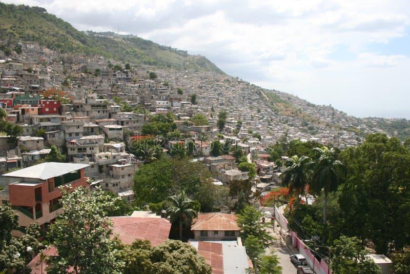 au Haiti portowy książe fotografia royalty free