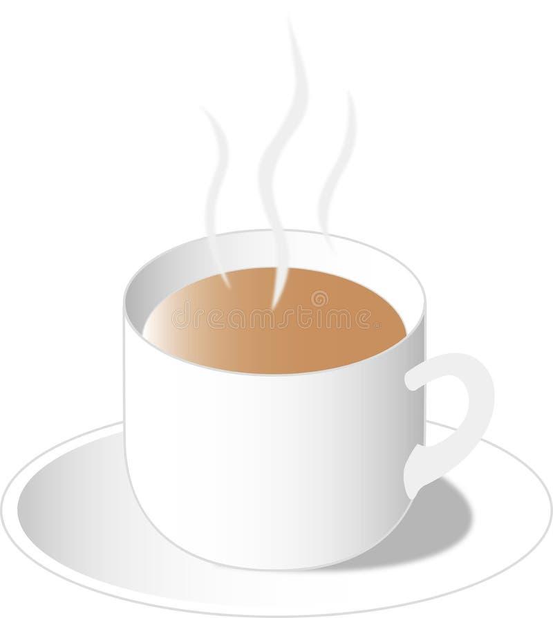 Au Lait καφέδων στοκ εικόνα
