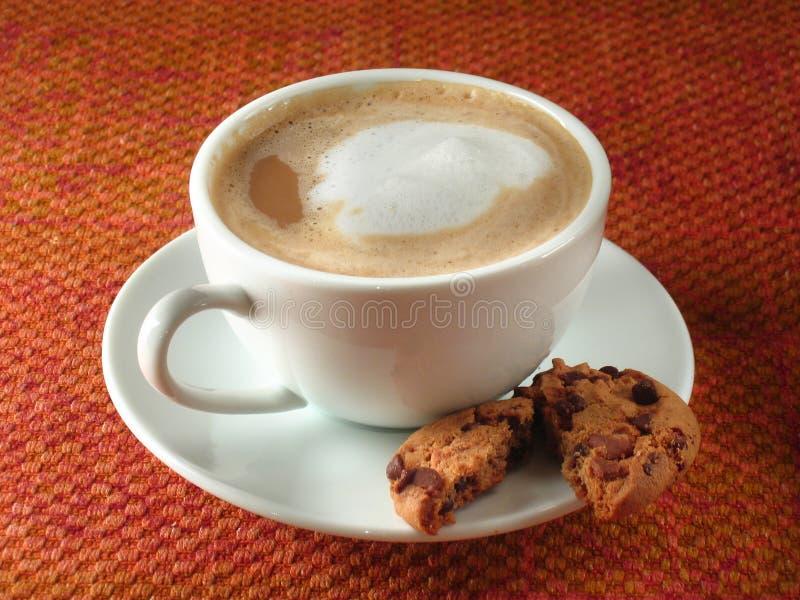 Au Lait van de koffiebar royalty-vrije stock afbeelding