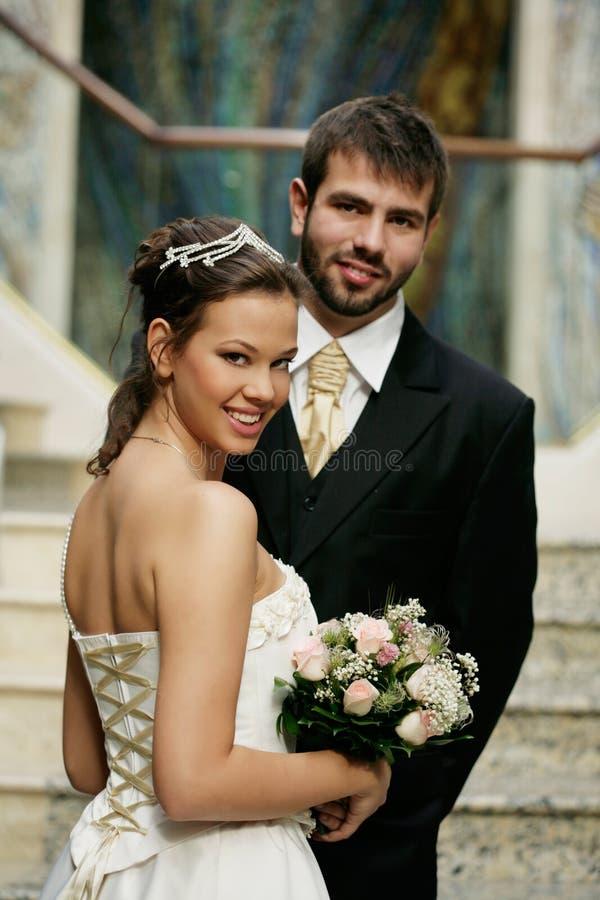 Au mariage images stock