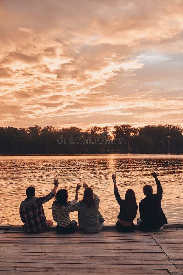 Au meilleur été ! photographie stock