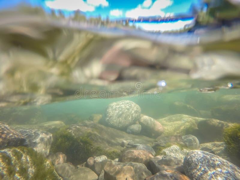 Au parc d'?tat de cuvette et de broc de rive ? Spokane Washington images stock