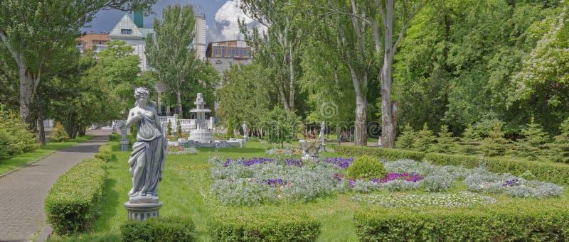 Au printemps parc de Gorki, Rostov-On-Don, Russie image libre de droits