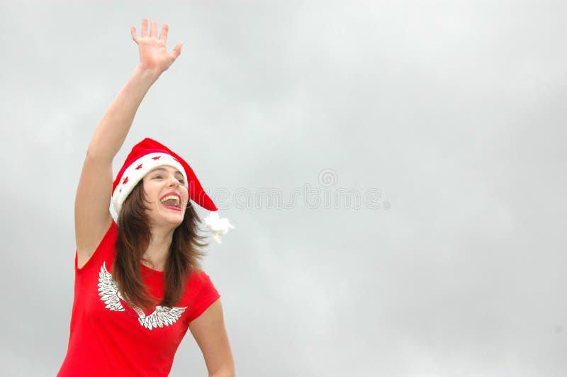 Au-revoir, temps secondaire de Noël ! photographie stock libre de droits