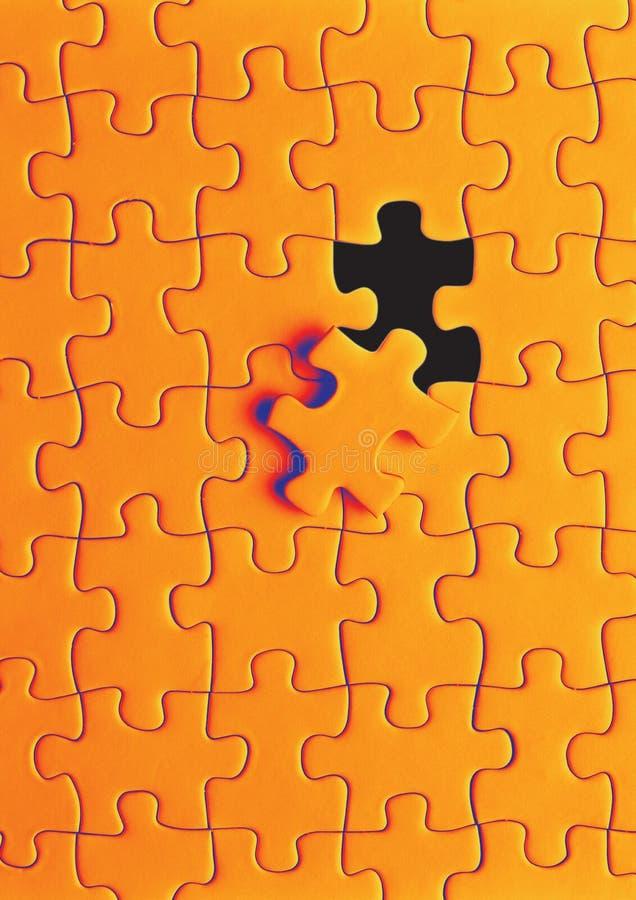Au sol de puzzle photos libres de droits