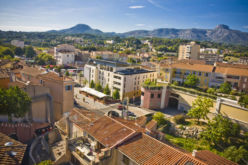 Aubagne royalty free stock photo