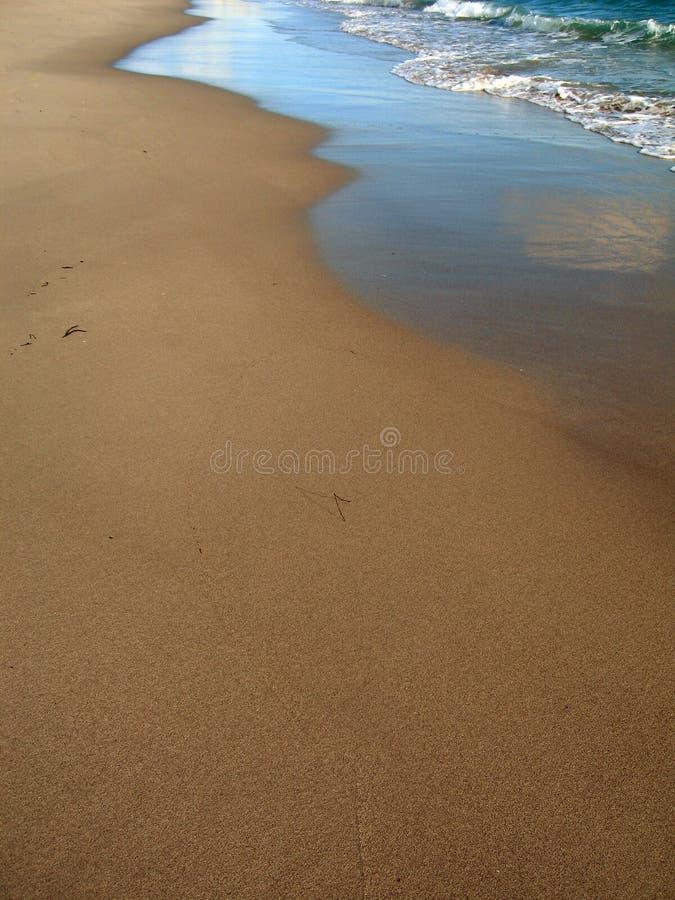 Aube 2 de plage photo libre de droits