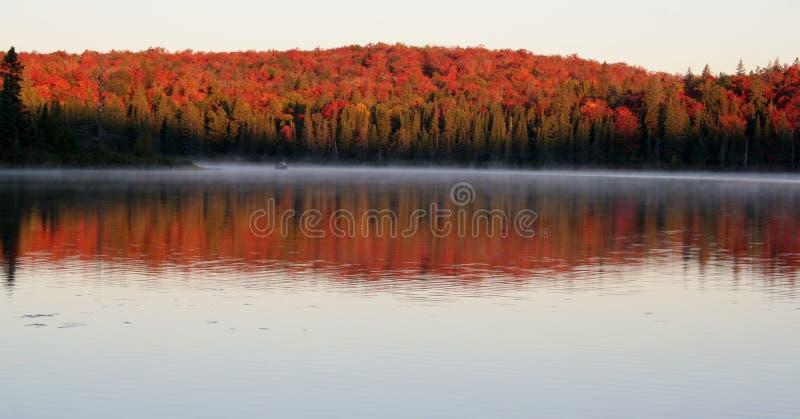 Aube d'automne photos libres de droits