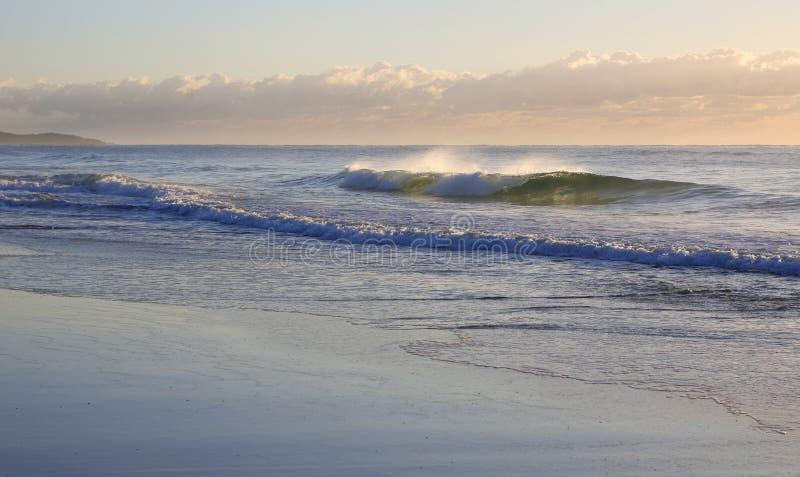 Aube de plage photo libre de droits