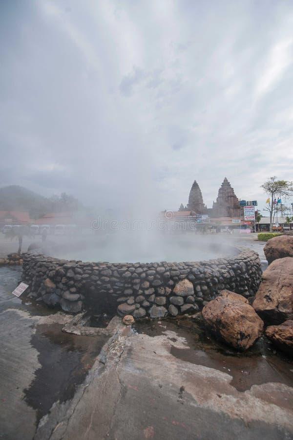 Auberge et station thermale Chiang Rai en Thaïlande du nord photographie stock libre de droits